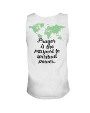 Prayer Is The  Passport To Spiritual Power Unisex Tank thumbnail