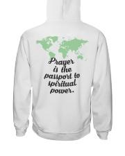 Prayer Is The  Passport To Spiritual Power Hooded Sweatshirt thumbnail