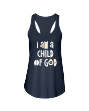 I Am A Child Of God Ladies Flowy Tank thumbnail
