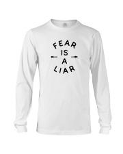 Fear Is A Liar Long Sleeve Tee thumbnail