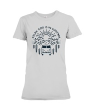 Relax God Is In Control Premium Fit Ladies Tee thumbnail