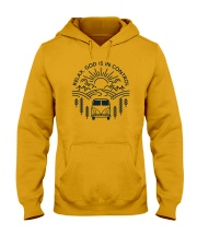 Relax God Is In Control Hooded Sweatshirt thumbnail