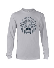 Relax God Is In Control Long Sleeve Tee thumbnail