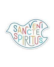 Veni Sancte Spiritus Sticker - Single (Horizontal) thumbnail