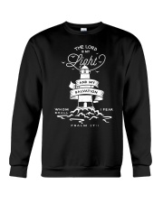 The Lord Is My Light And My Salvation Crewneck Sweatshirt thumbnail