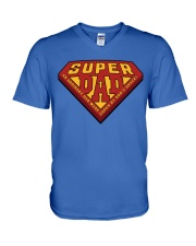Super Dad V-Neck T-Shirt thumbnail