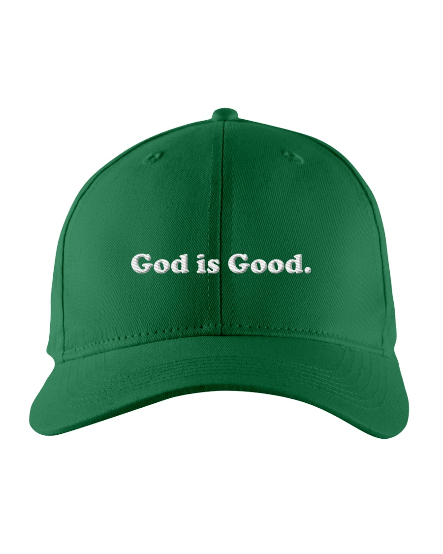 God Is Good Embroidered Hat