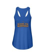 Made To Worship Ladies Flowy Tank thumbnail