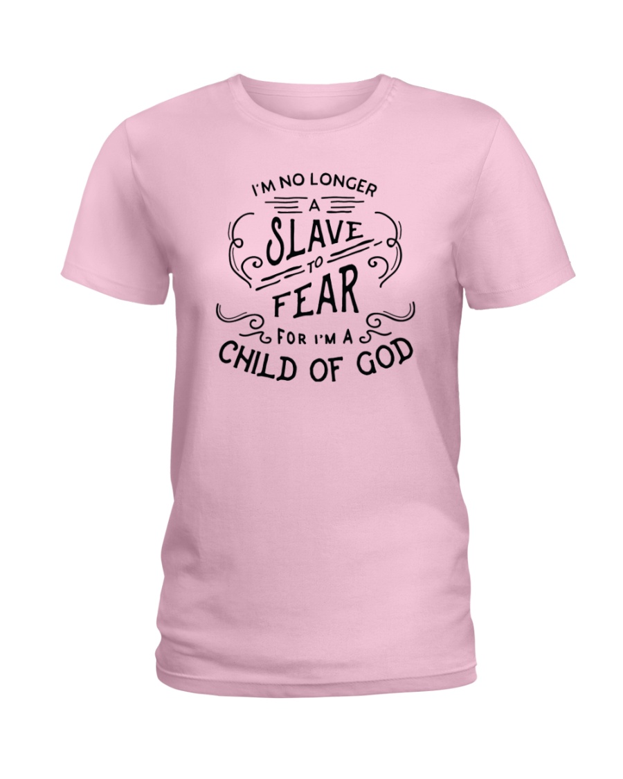 I Am A Child Of God Ladies T-Shirt
