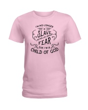 I Am A Child Of God Ladies T-Shirt front