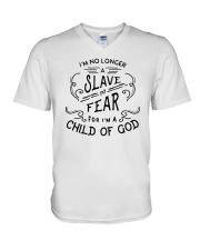 I Am A Child Of God V-Neck T-Shirt thumbnail