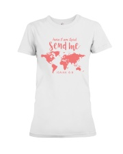 Here I Am Lord - Send Me Premium Fit Ladies Tee thumbnail