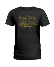 May The Lord Be With You Ladies T-Shirt thumbnail