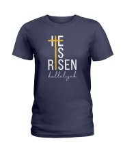 He Is Risen Ladies T-Shirt thumbnail
