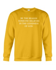 Believes In The Goodness Of God Crewneck Sweatshirt front