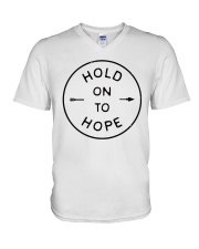 Hold On To Hope V-Neck T-Shirt thumbnail