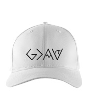 God is greater than the highs and lows Embroidered Hat thumbnail
