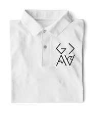 God is greater than the highs and lows Classic Polo front