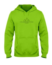 If The Mountains Bow In Reverence So Will I Hooded Sweatshirt thumbnail