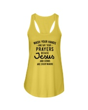 Wash Your Hands And Say Your Prayers Ladies Flowy Tank thumbnail