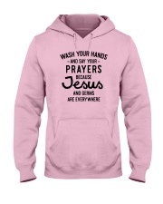 Wash Your Hands And Say Your Prayers Hooded Sweatshirt thumbnail