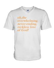 Reckless Love Of God V-Neck T-Shirt thumbnail
