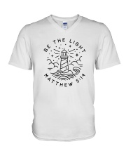 Be The Light - Matthew 5:14 V-Neck T-Shirt thumbnail
