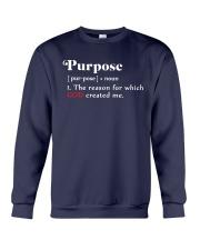 Purpose Crewneck Sweatshirt front