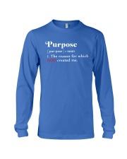 Purpose Long Sleeve Tee thumbnail
