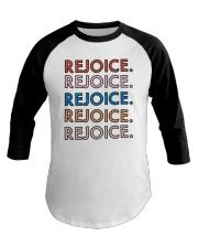 Rejoice Baseball Tee thumbnail