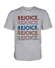 Rejoice V-Neck T-Shirt thumbnail