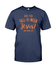 Are You Fall-O-Ween Jesus Premium Fit Mens Tee tile