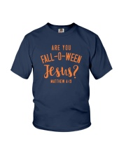 Are You Fall-O-Ween Jesus Youth T-Shirt tile