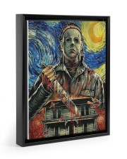 Canvas Killer Of The Night 11x14 Black Floating Framed Canvas Prints thumbnail