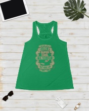 I never dreamed i would be a super cool manicurist Ladies Flowy Tank lifestyle-bellaflowy-tank-front-5