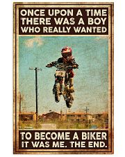 Once upon a time there was a boy Vertical Poster tile