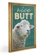 Sheep nice butt 1 20x30 Gallery Wrapped Canvas Prints front