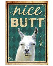 Llama Nice Butt Vertical Poster tile