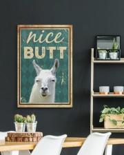 Llama Nice Butt 20x30 Gallery Wrapped Canvas Prints aos-canvas-pgw-20x30-lifestyle-front-04