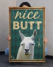 Llama Nice Butt 20x30 Gallery Wrapped Canvas Prints aos-canvas-pgw-20x30-lifestyle-front-24