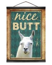 Llama Nice Butt Hanging Canvas tile