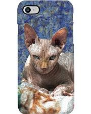 Sphynx cat Phone Case tile