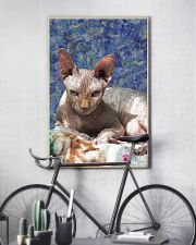 Sphynx cat 24x36 Poster lifestyle-poster-7
