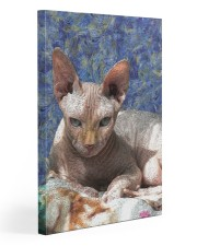Sphynx cat Gallery Wrapped Canvas Prints tile