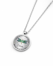 Your wings were ready but my heart was not Metallic Circle Necklace aos-necklace-circle-metallic-lifestyle-04