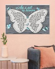 As I sit in heaven 36x24 Poster poster-landscape-36x24-lifestyle-18
