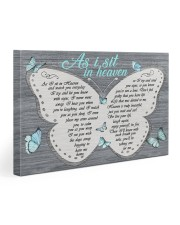 As I sit in heaven Gallery Wrapped Canvas Prints tile