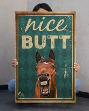 Horse Nice Butt 20x30 Gallery Wrapped Canvas Prints aos-canvas-pgw-20x30-lifestyle-front-24
