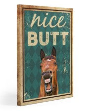 Horse Nice Butt 20x30 Gallery Wrapped Canvas Prints front