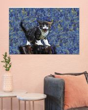 Cat love 36x24 Poster poster-landscape-36x24-lifestyle-18